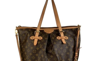 Louis Vuitton Monogram Canvas Palermo GM Tote Bag with