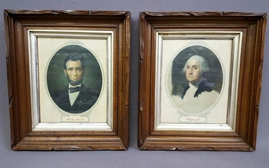 Pair of Circa 1870's Carved Walnut Picture Frames