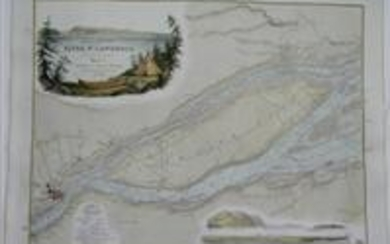 Plans of the River St. Lawrence below Quebec. Sheet 7. Quebec and Isle of Orleans.