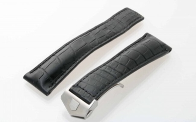 Tag Heuer FC5041 Leather Watch Strap 22MM With Buckle