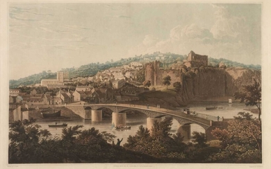 Town of Chepstow. Havell (Robert), 1826