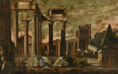 attributed to GIOVANNI PAOLO PANINI (Italian 1691-1765)