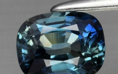 0.71 ct. Natural Greenish Blue Sapphire - AUSTRALIA