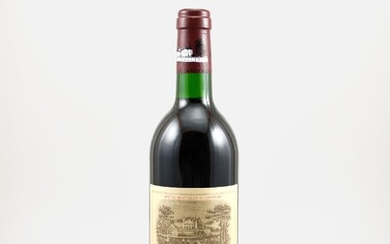 1 bottle 1993 Chateau Lafite Rothschild, Pauillac,...