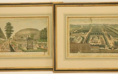 2 18th C. Engravings, Muller and Bowles