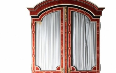 A LOUIS XIV STYLE CABINET
