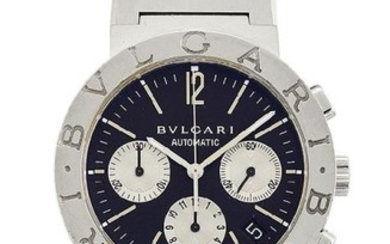 A stainless steel automatic chronograph wristwatch, by...