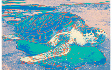 Andy Warhol (1928-1987), Turtle (1985)