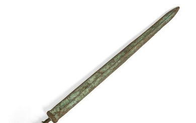 BRONZE SWORD WARRING STATES PERIOD OR LATER