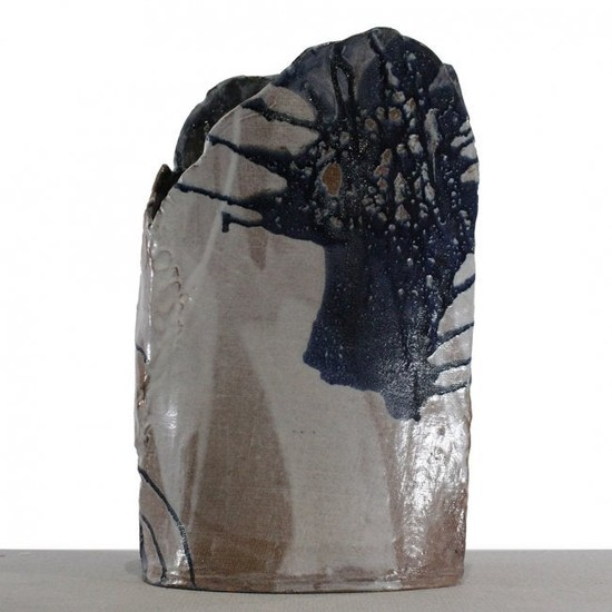 CLARA GERMANO Unique Modern Studio Art Pottery Vase