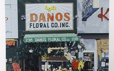 Charles Ford, Dano's Floral, Silkscreen