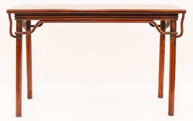 Chinese Rosewood Ming Style Altar Table 32''x49''x17''.