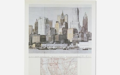 Christo and Jeanne-Claude, Two Lower Manhattan Building