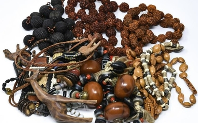 Costume Jewelry Necklaces Includ African & Tribal