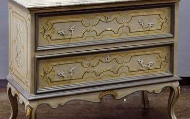 Country French Style Painted Dresser