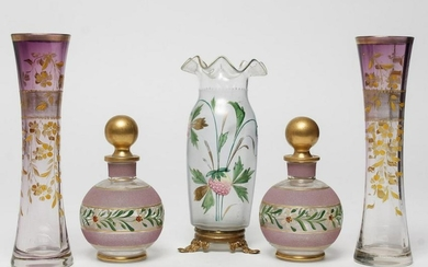 Decorative Painted Glass Articles, 5