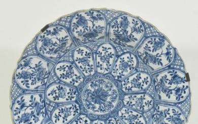 Dish in CHne porcelain, 18th century, chip and...
