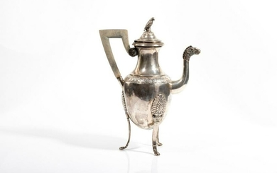 FRENCH SILVERPLATE COFFEE POT