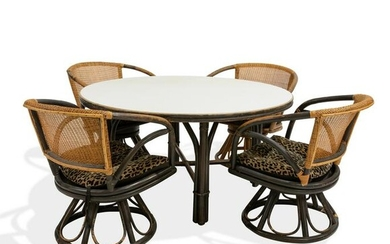 Ficks Reed - Table and 4 Chairs