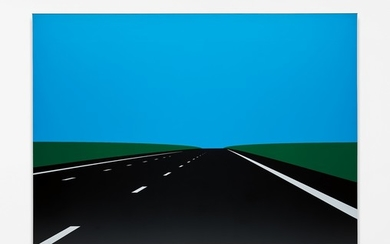 Julian Opie, Imagine you are driving. 4.