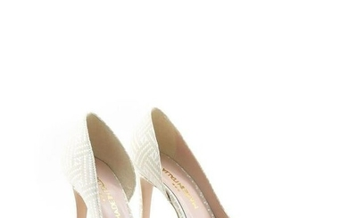 Ladies Italian Pumps Shoes Size EUR 38 US 7.5 Made in