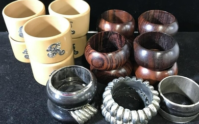 Lot 19 Napkin Rings