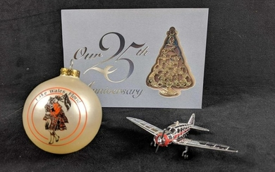 Lot Of Three Travel Ornaments With An Special Exclusive