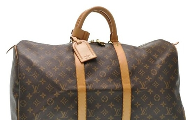 Louis Vuitton - Monogram Keepall 45 boston bag