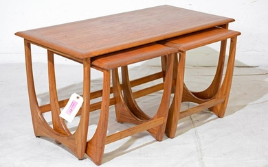 Mid Century Wide Astro Nest / Coffee Table By G-plan
