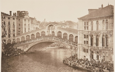 ONGANIA, FERDINAND Streets and Canals of Venice and in the Islands of the Lagoons.
