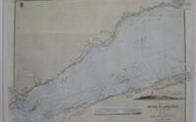 Plans of the River St. Lawerence below Quebec Sheet 2 between the rivers Bersimis and Saguenay including Bic and Green Islands.