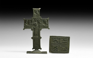 Post Byzantine Portable Cross with Seal