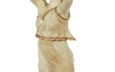 Royal Worcester Figure of a Bacchante