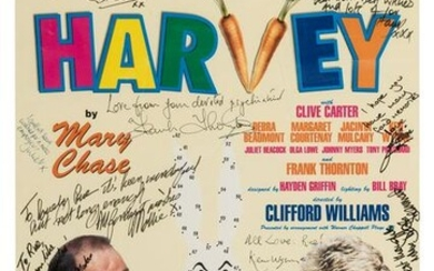 "Rue McClanahan's ""Harvey"" Signed"