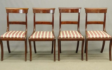 Set of 19th c. Klismos Chairs