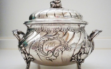 Sugar caster - .800 silver - Germany - Late 19th century