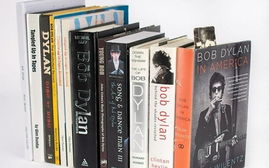 Tony Glover's Bob Dylan Reference Book Archive