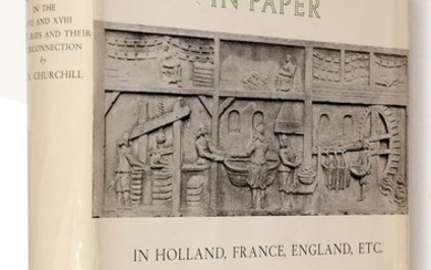 W.A. Churchill - Watermarks in paper in Holland, England, France, etc., in the XVII and XVIII centuries - 1967
