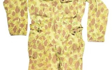 WORLD WAR II US ARMY FROGSKIN CAMOUFLAGE ONE PIECE