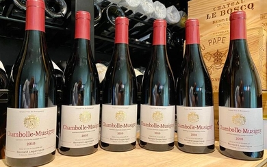 2010 Chambolle Musigny - Bernard Lagarrigue - Chambolle Musigny - 6 Bottles (0.75L)