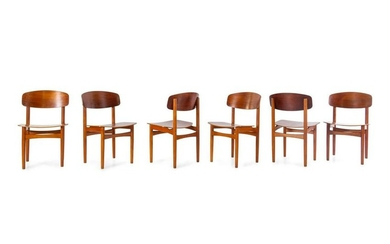 Borge Mogensen Set of Six Dining Chairs Soborg