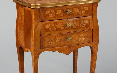 A French inlaid night stand