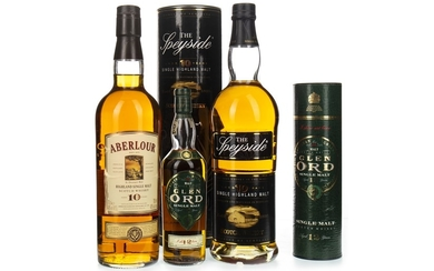 ABERLOUR 10 YEARS OLD, THE SPEYSIDE 10