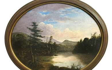 AMERICAN SCHOOL PAINTING ATTRIBUTED TO JOHN CASILEAR