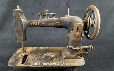 Antique Domestic C Late 1800s Sewing Machine