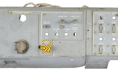 Apollo Lunar Module Control Panel