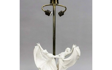 Art Deco lamp, around 192