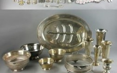 Assorted Silver and Silverplate Items