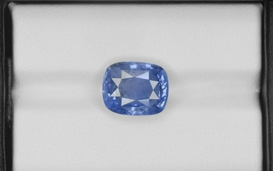 Blue Sapphire, 8.24ct, Mined in Sri Lanka, Certified by