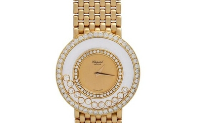 CHOPARD Happy Diamonds Damenuhr, Ref. 1159. Gold 18K....